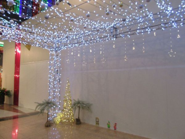 クリスマスアート展に合わせて装飾されています