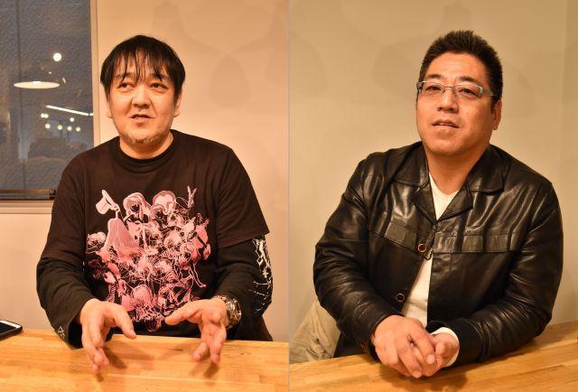 西浦和也さん(左)と鎌倉泰川さん