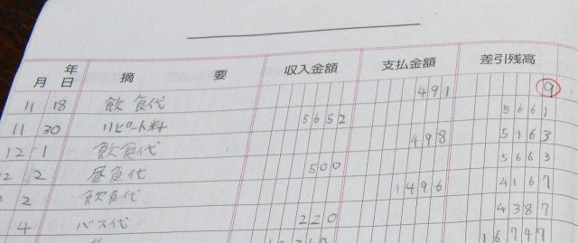 「残高9円」からスタートした家計簿