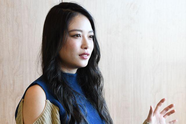 竹本萌瑛子さん。インタビューを受けるのは初めてだそう