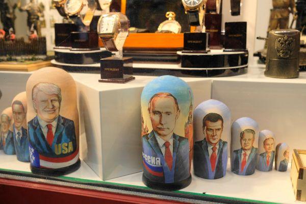 こちらは定番の歴代指導者系。2000年以降、ロシアの大統領はプーチン氏とドベージェフ氏しかおらず、目新しさはありません