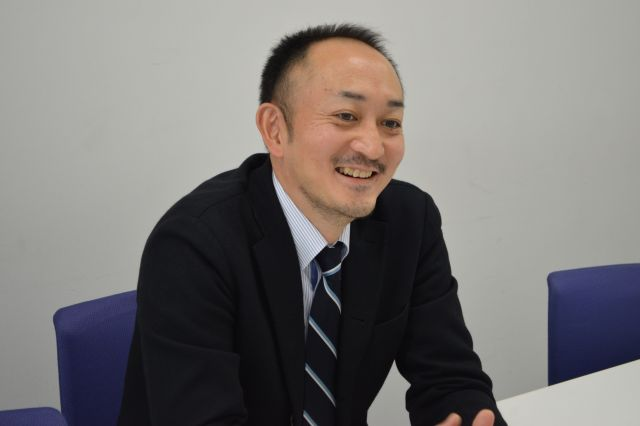 伊藤忠商事・繊維カンパニーの西村宣浩さん