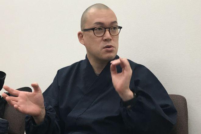 お坊さんに悩み相談ができるサイト「hasunoha」を立ち上げた僧侶の井上広法さん
