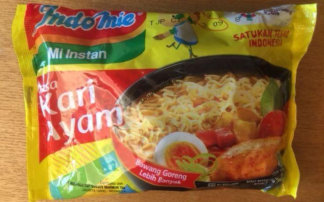 インドネシアの国民食とも言える人気商品「インドミー」