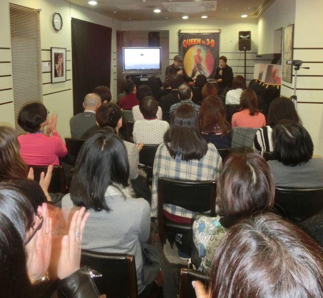 12月15日に開かれた「ミュージック・ライフ・クラブ」のトークイベントに集まった人たち