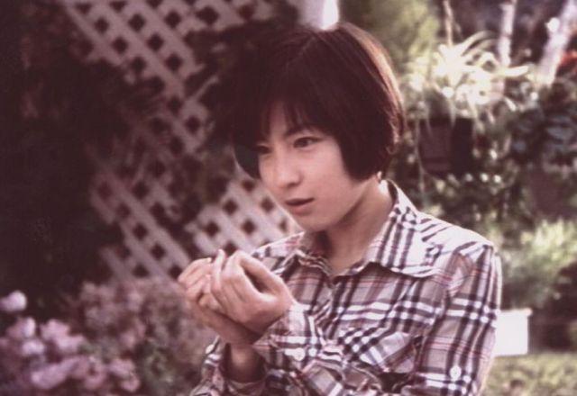 ポケベルのCM(写真は1997年)で人気を呼んだ=NTTドコモ提供