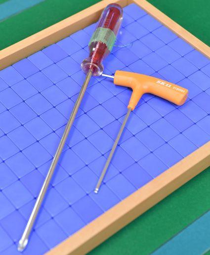 宮川さんの修理用工具