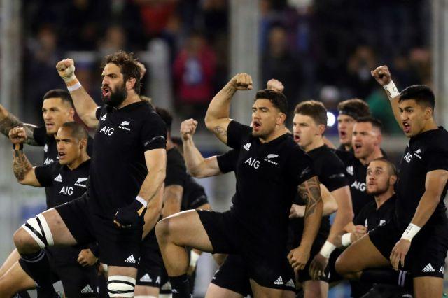 「オールブラックス」の愛称で知られるニュージーランド代表