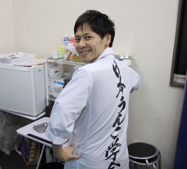 イベント等で着る「日本うんこ学会」の白衣はめちゃくちゃ目立つ