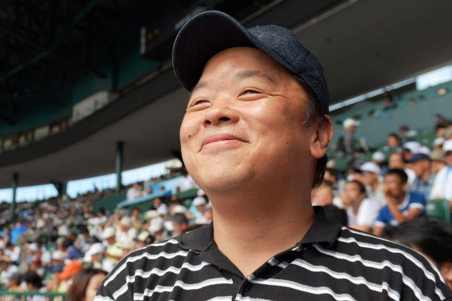 伊集院光さん=2014年8月21日、加藤諒撮影