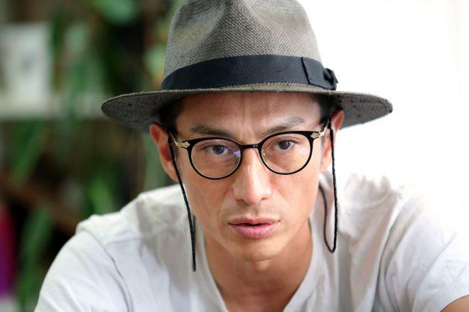 俳優でリバースプロジェクト代表の伊勢谷友介さん=林紗記撮影