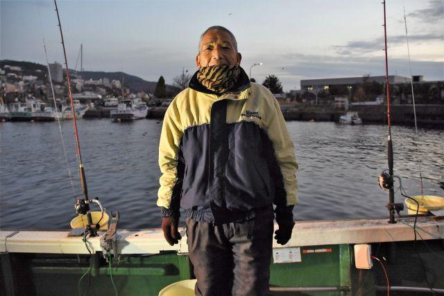 タイ釣り名人の船長、伊藤さん