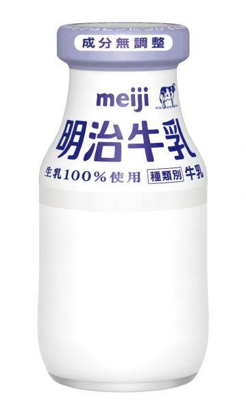 明治牛乳180ml