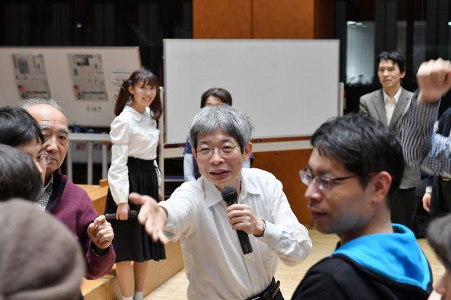 イベントの冒頭には、来場者が参加したワークショップも行われた