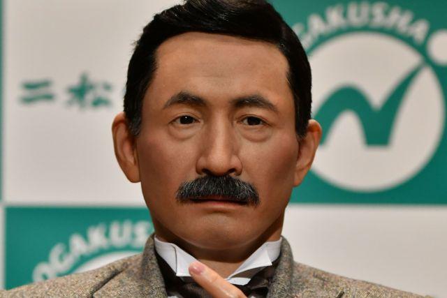 夏目漱石のアンドロイド