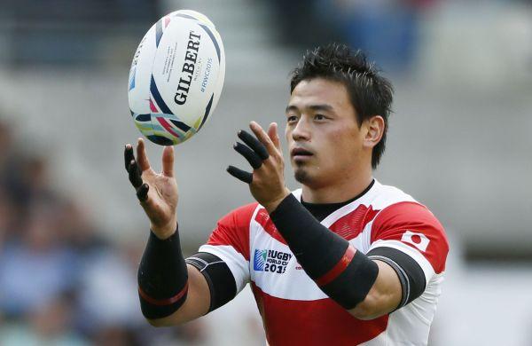 日本が歴史的勝利を挙げた2015年W杯イングランド大会の南アフリカ戦のワンシーン