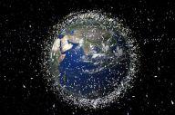 宇宙に漂うゴミ(イメージ図)=欧州宇宙機関提供