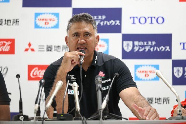 現在、日本代表ヘッドコーチのジェイミー・ジョセフさん