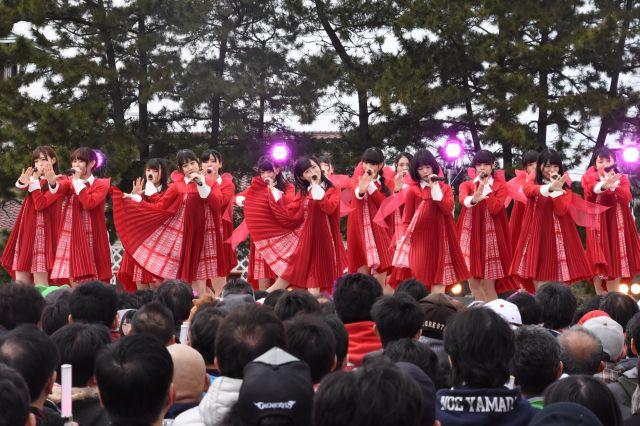 2017年にメジャーデビューしたNGT48
