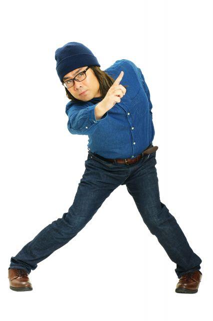 トントン拍子にデビューしたポセイドン・石川さん。昨年8月まで、ラーメン屋でアルバイトをしていたという=日本コロムビア提供
