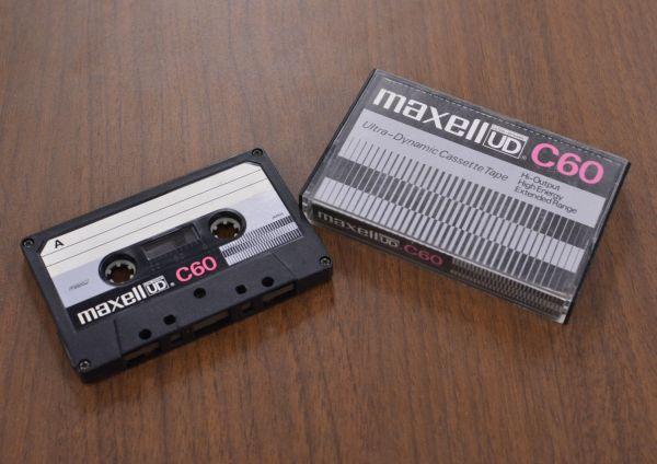 1972年発売マクセルのカセット「UD-C60」で
