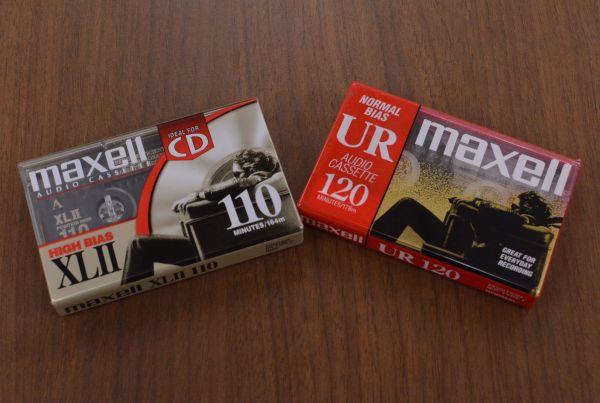 海外で販売されていたマクセルのカセットテープ