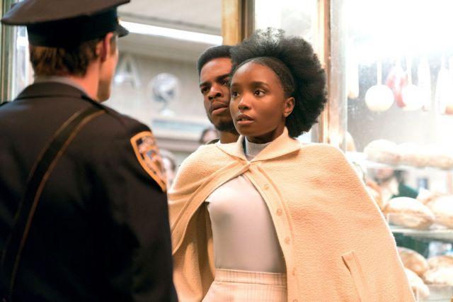 『ビール・ストリートの恋人たち』 白人の警官にファニーが犯罪を疑われるのをかばうティッシュ