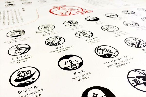 清水陽さんが考案した洒落紋