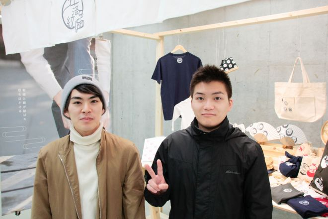 作者の清水陽さん(左)と、ツイートが話題になった清水さんの弟(右)