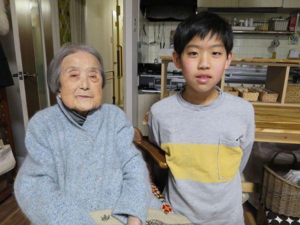 おばあちゃんと凜太朗君