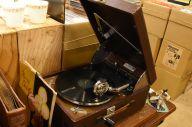 レトロな雰囲気あふれるレコード