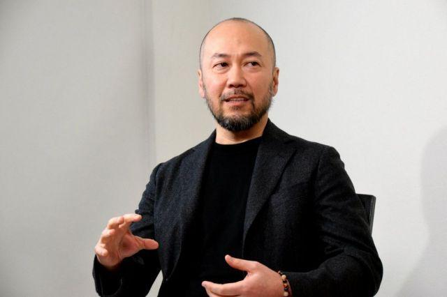 スラムダンクの原作者、井上雄彦さん