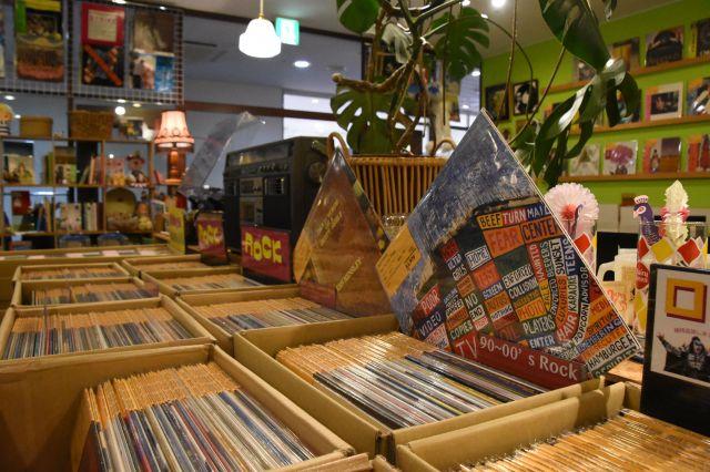 盛岡市内のレコード店