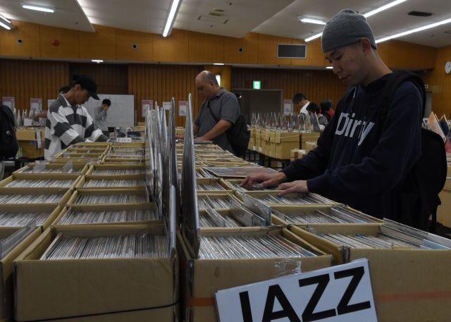 盛岡で開かれるレコードフェア