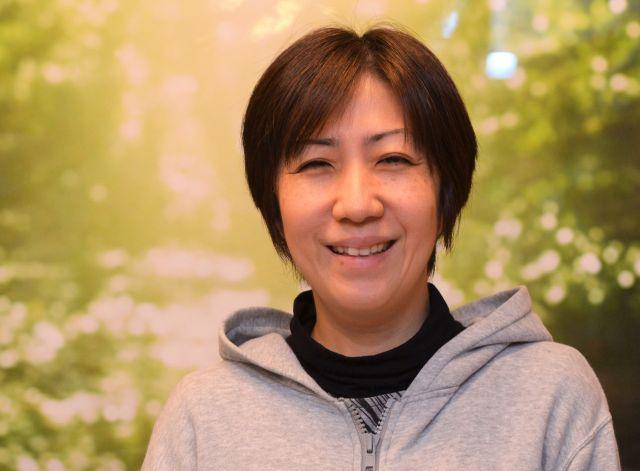 NPO法人「マイフェイス・マイスタイル」の外川浩子代表=河原夏季撮影