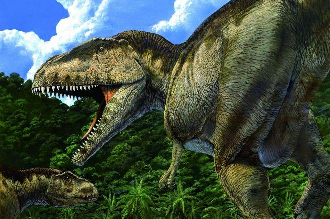 国立科学博物館などで開催された「大恐竜展~知られざる南半球」で描かれたマプサウルス(c)Akio Itou