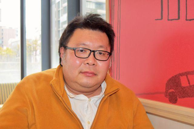 中洲町会で青年部長を務める高木さん