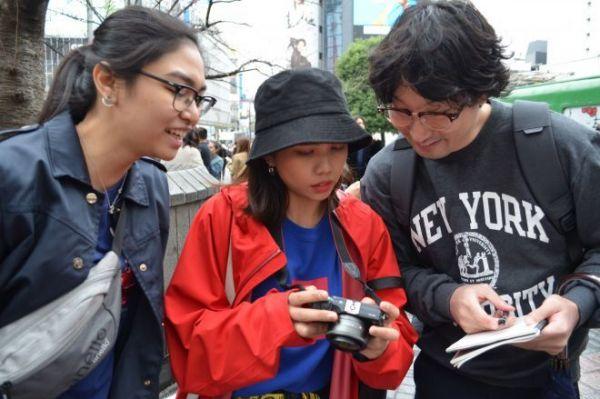 4組目 フィリピンから遊びに来た女の子2人組