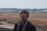 福島第一原発周辺の地域で、「大字誌」の作成を始めた歴史学者の西村慎太郎さん=福島県双葉町両竹