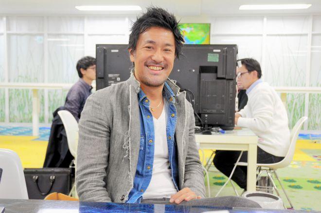 チームラボ代表の猪子寿之さん=佐藤常敬撮影