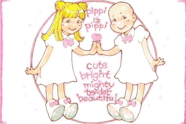 カミングアウトの後、漫画家の深谷陽さんから「pippiはpippi」と激励する絵をもらいました(ぴっぴさん提供)