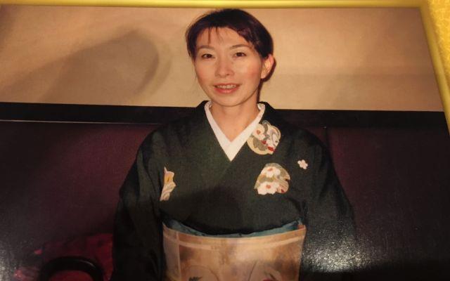 着物が好きだったという浦野芳子さん