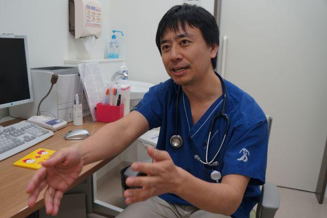 「教えて!ドクター」で発信する坂本昌彦さん