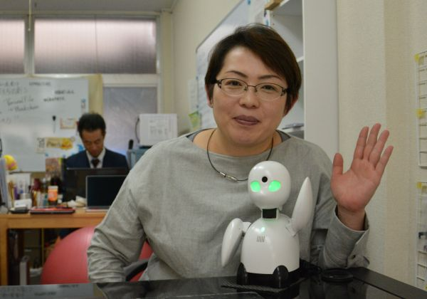 分身ロボで学校と院内学級をつなぐ今川由紀子さん