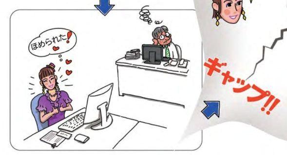 職場で使える「虎の巻」の一場面