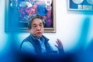 ウド―音楽事務所の高橋辰雄さん=鬼室黎撮影