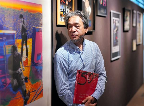 長くクラプトンを担当したウド―音楽事務所の高橋辰雄さん。「禁酒してからは落ち着きが出てきたと思います」