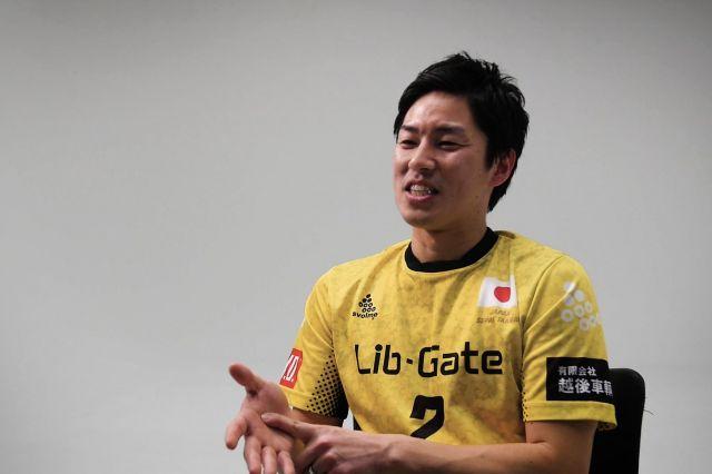 セパタクロー日本代表・高野征也選手