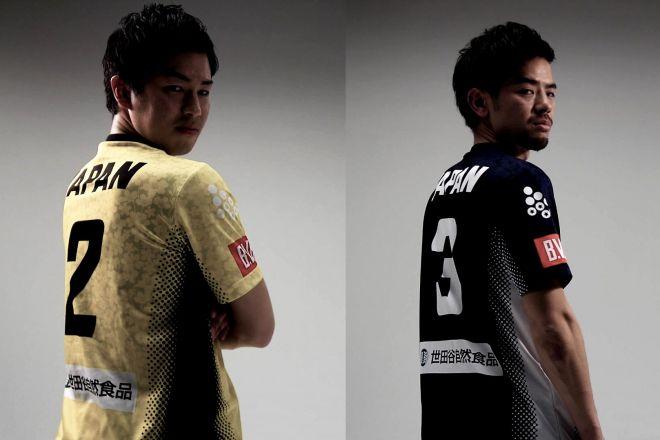セパタクロー日本代表・高野征也選手(左)、寺島武志選手(右)