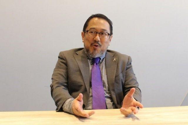 ファストフィットネスジャパンでブランド戦略を担当している、クリエイティブディレクター・面木剛さん。